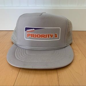 Other - Vintage Federal Express Priority 1 Hat